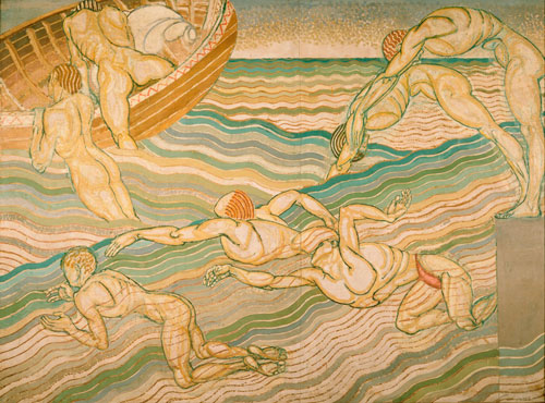 Duncan Grant. <em>Bathing</em>, 1911. &copy; Tate, London, 2010.