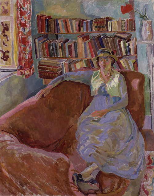 Duncan Grant. <em>Vanessa Bell (n&eacute;e Stephen),</em> 1916&ndash;17. Lent by the National Portrait Gallery, London. &copy; Estate of Duncan Grant. All rights reserved, DACS 2010.