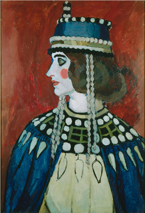 Vanessa Bell. <em>Byzantine Lady</em>, 1912. &copy; 1961 Estate of Vanessa Bell, courtesy Henrietta Garnett /courtesy of the UK Government Art Collection.