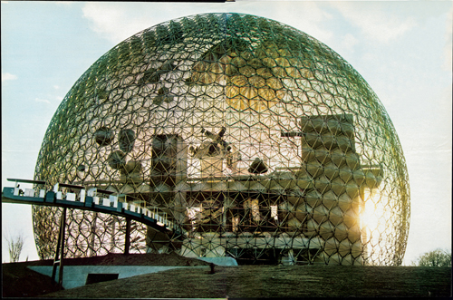Richard Buckminster Fuller.        <em>US Pavilion for Expo 67, </em>1967. 