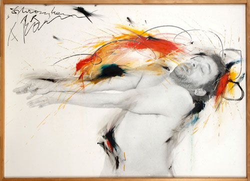 Arnulf Rainer. Barrier, 1974-75. © the artist. Courtesy Albertina Museum, Vienna.