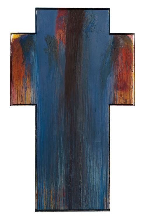 Arnulf Rainer. Cross, 1990-91. © the artist. Courtesy Albertina Museum, Vienna.