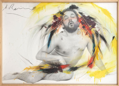 Arnulf Rainer. Fatigued Pose I, 1975. © the artist. Courtesy Albertina Museum, Vienna.