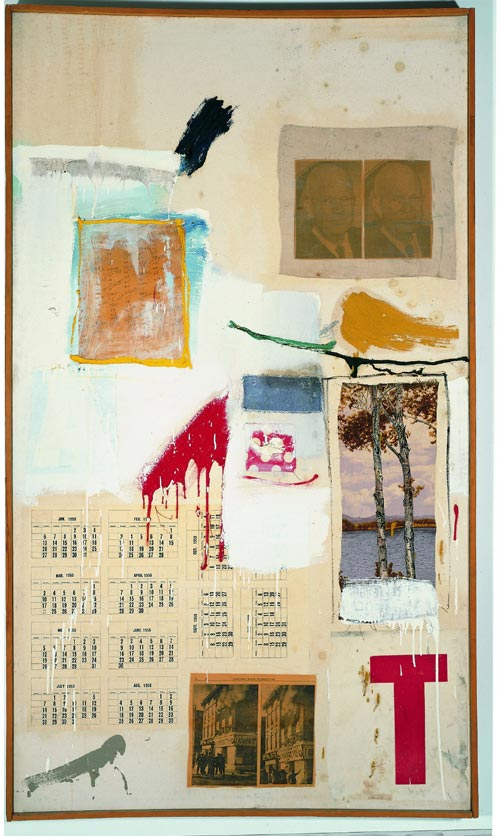 Robert Rauschenberg, <em>Factum I</em>, 1957. Musée d'Art Contemporain de Los Angeles (MOCA), Collection Panza © Robert Rauschenberg / Adagp, Paris, 2006
