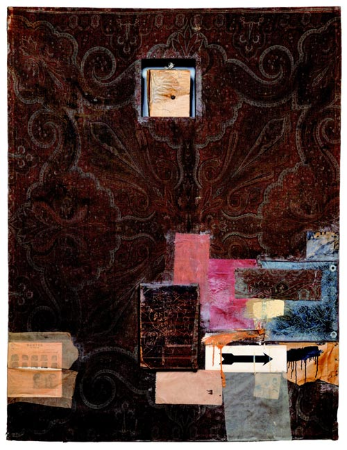 Robert Rauschenberg, <em>Hymnal</em>, 1955. Sonnabend Collection, New York © Robert Rauschenberg / Adagp, Paris, 2006