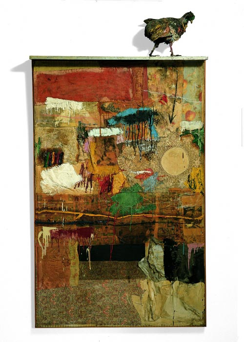Robert Rauschenberg, <em>Satellite</em>, 1955. Whitney Museum of American Art, New York © Robert Rauschenberg / Adagp, Paris, 2006