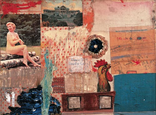 Robert Rauschenberg, <em>Untitled</em>, 1955. Collection Jasper Johns © Robert Rauschenberg / Adagp, Paris, 2006
