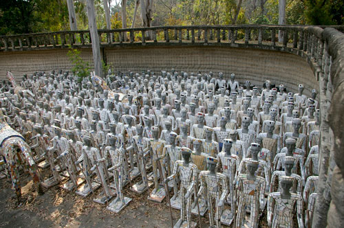 Nek Chand. The Rock Garden, Chandigarh, India.