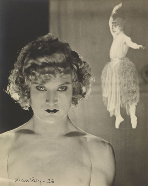 Man Ray. Barbette, 1926. The J. Paul Getty Museum, Los Angeles.