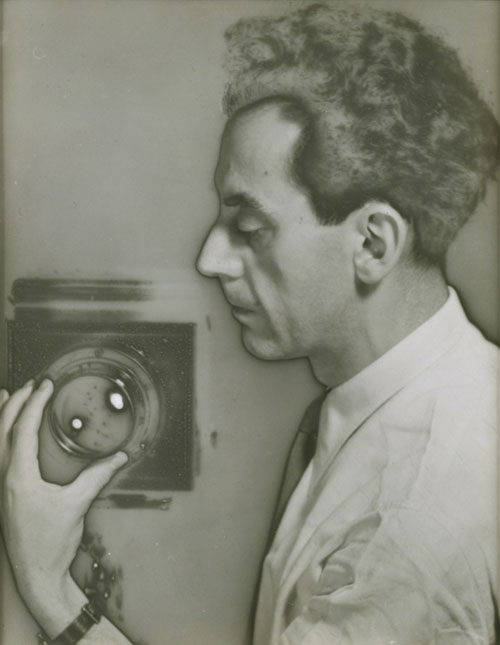 Man Ray. Self-Portrait with Camera, 1930. The Jewish Museum, New York.