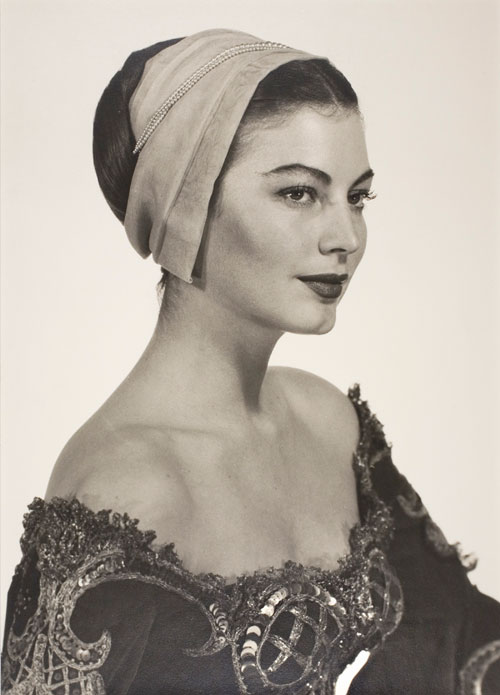Man Ray. Ava Gardner in Costume for Albert Lewin's Pandora and the Flying Duchman, 1950. Collection Man Ray Trust.