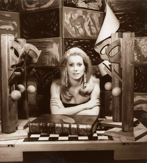 Man Ray. Catherine Deneuve, 1968. Private collection.