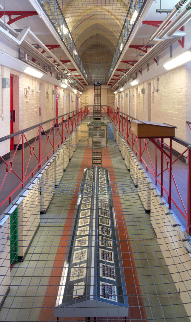 Inside: Artists and Writers in Reading Prison. Photograph: © Marcus J Leith. Courtesy of Artangel.