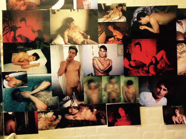 Nan Goldin. The Boy (detail). Photograph: © James Lingwood. Courtesy of Artangel.
