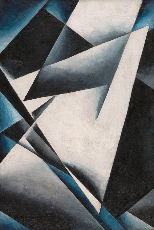 <p>Liubov Popova. <em>Painterly Architectonics</em>, 1918-19. Oil on canvas, 73.1 x 48.1 cm. State Museum of Contemporary Art - G. Costakis Collection, Thessaloniki, Greece.