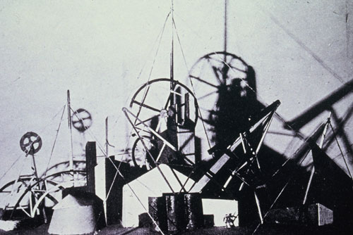 <p>Liubov Popova. <em>Maquette for City of the Future,</em> 1921. Photographer unknown. © Studio International.