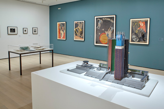 A Revolutionary Impulse: The Rise of the Russian Avant-Garde. Installation view, The Museum of Modern Art, New York, 3 December 2016 - 12 March 2017. © 2016 The Museum of Modern Art. Photograph: Robert Gerhardt.