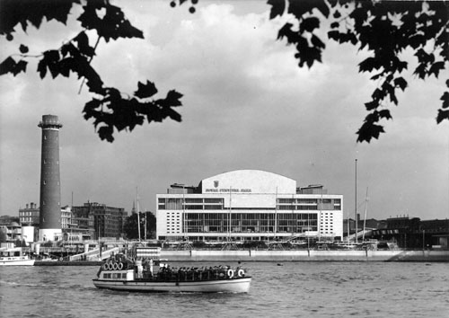 View of the Royal Festival Hall in 1951. Copyright the Royal Festival Hall Archives