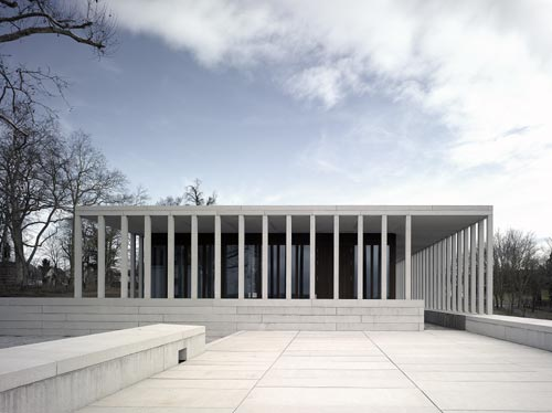 David Chipperfield Architects. Museum of Modern Literature, Marbach am Neckar, Germany. Photograph © Christian Richters.
