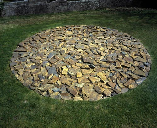 Richard Long. <em>Macduff Circle</em>, 2002. © The Artist.