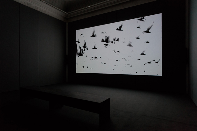 James Richards. Radio at Night, 2015. Installation view, Requests and Antisongs, 2016. Courtesy Institute of Contemporary Arts. Photograph: Mark Blower.