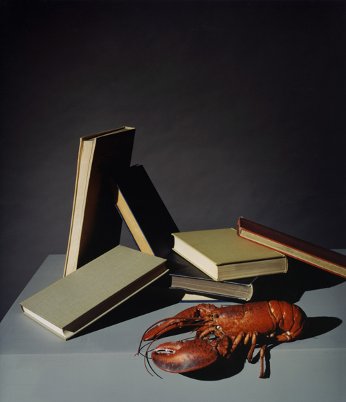 Olivier Richon. <em>Generic still life, with lobster</em>, 2008. C-type print, 75 x 65 cm.