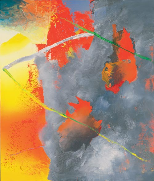 Gerhard Richter. <em>&Auml;tna (Etna), </em>1981. Oil on canvas, 200 x 170 cm. Collection B&ouml;ckmann &copy; Gerhard Richter. Photo: Museum Frieder Burda, Baden-Baden
