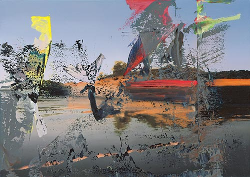 Gerhard Richter. <em>Venedig </em>(<em>Venice</em>),1986.Oil on canvas, 86 x 121 cm. Museum Frieder Burda, Baden-Baden &copy; Gerhard Richter. Photo: Museum Frieder Burda, Baden-Baden