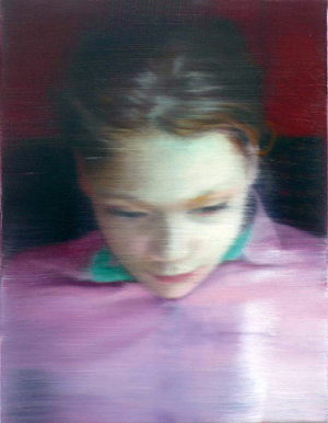 Gerhard Richter.<em> Elly, </em>2007. Private Collection. Copyright © Gerhard Richter 2009