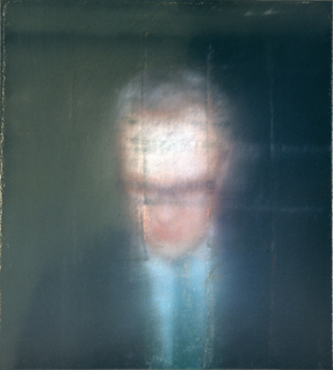 Gerhard Richter.<em> Self portrait, </em>1996. Flowerman Collection, Tatsumi Sato. Copyright © Gerhard Richter 2009