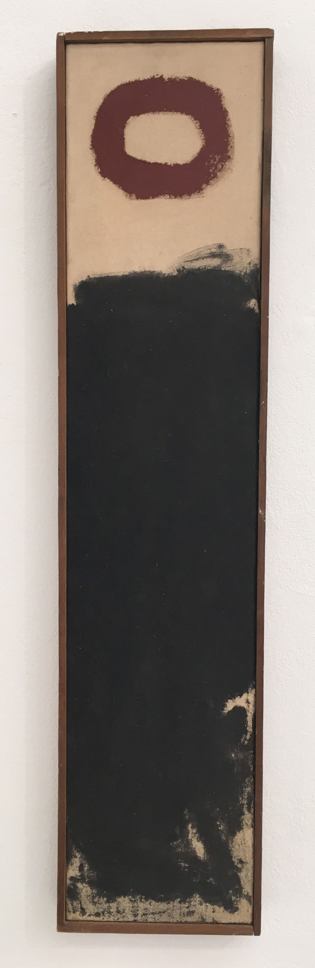 Geoffrey Rigden. Bop, 1978. Acrylic on canvas, 90 x 21 cm. Photograph: © APT Gallery.