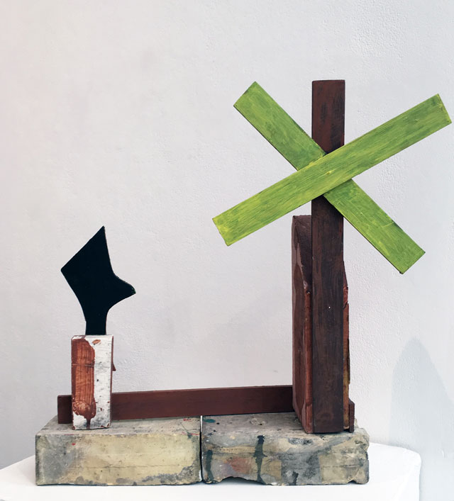 Geoffrey Rigden. Nata, 2007. Mixed media,	54 x 47 x 11 cm. Photograph: © APT Gallery.