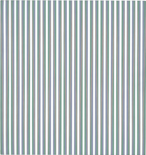 Bridget Riley. Vapour, 1970. Acrylic on linen, 96 x 90 cm. Private collection.