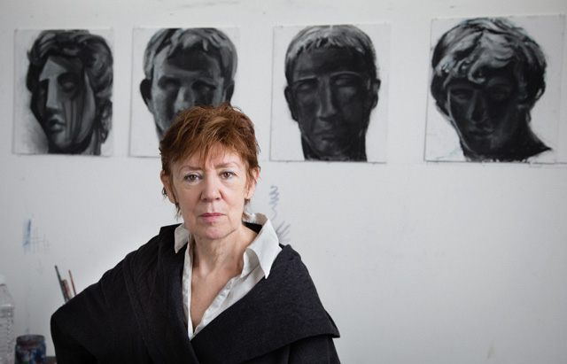 Carole Robb in her studio. Photograph: Robb Horsley. © the artist.