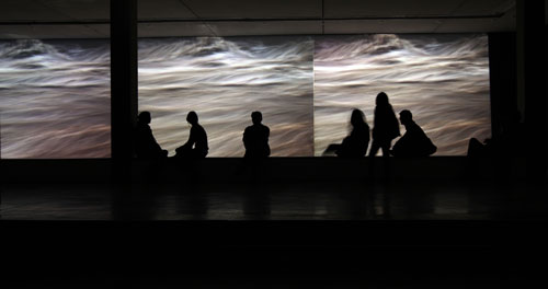 Clemencia Echeverri (b1950). Treno, 2007. Video installation. Courtesy of the artist.