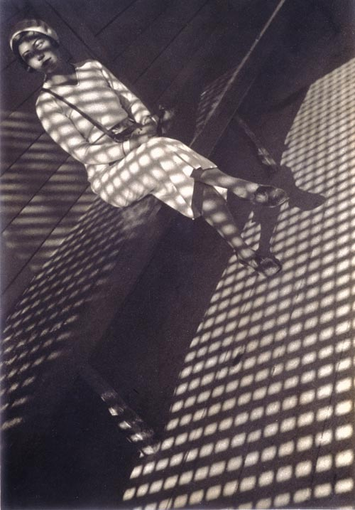 Alexander Rodchenko. <em>Girl with a Leica,</em> 1934. Artist print. Private collection &copy; DACS 2008/Rodchenko archives