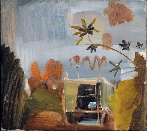 <p>Ivon Hitchens. <em>The Caravan, Greensleeves</em>, c1941. Photo courtesy Jonathan Clark Fine Art, London. © Estate of Ivon Hitchens.