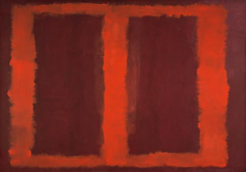 Mark Rothko. <em>Sketch for &quot;Mural No.4&quot;,</em> 1958. Mixed media on canvas, 265.8 x 379.4 cm. Kawamura Memorial Museum of Art, Sakura &copy; 1998 by Kate Rothko Prizel and Christopher Rothko