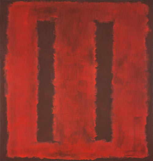 Mark Rothko. <em>Untitled,</em> 1958. Mixed media on canvas, 264.8 x 252.1 cm. Kawamura Memorial Museum of Art, Sakura &copy; 1998 by Kate Rothko Prizel and Christopher Rothko
