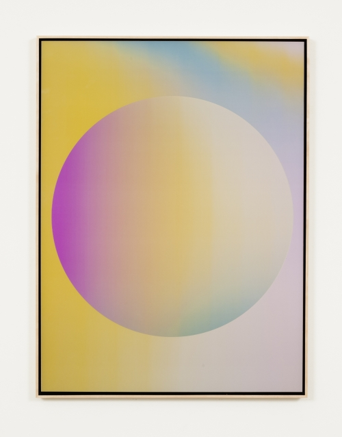 Rafaël Rozendaal. Into Time 14 04 01, 2014. Lenticular Painting, 35 x 47 in. Courtesy of the artist.