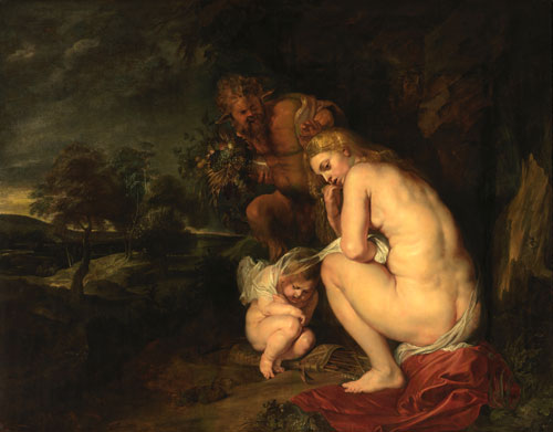 Peter Paul Rubens. Venus Frigida, 1614. Oil on panel, 145.1 x 185.6 x 3.8 cm. © Lukas - Art in Flanders VZW/Royal Museum of Fine Arts Antwerp. Photograph: Hugo Maertens.