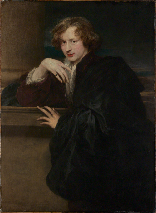 Anthony van Dyck (1599–1641).<em> Self-portrait.</em> c.1620–21. Oil on canvas, 119.7 x 87.9 cm. 