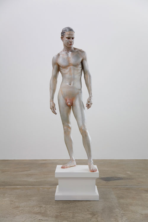 Frank Benson. Human Statue, 2005. © the artist. Courtesy Sadie Coles HQ, London and Andrew Kreps Gallery, New York.