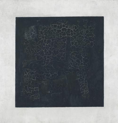 Kazimir Malevich. <em>Black Square</em>, ca. 1930. Oil on canvas, 21 1/16 x 21 inches. State Hermitage Museum, St. Petersburg. Photo: © State Hermitage Museum, St. Petersburg.
