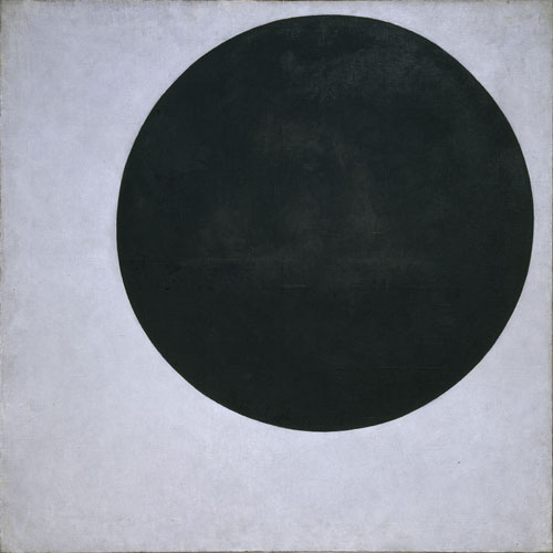 Kazimir Malevich (1879-1935). Black Circle, 1915. Oil on canvas, 102 x 102 cm. St Petersburg, State Russian Museum, inv. Zh-9472.