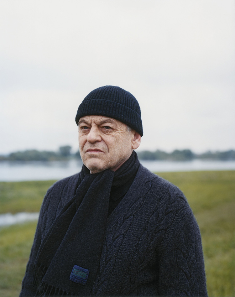 Portrait of Michael Schmidt, 2010. Copyright Albrecht Fuchs, Cologne.