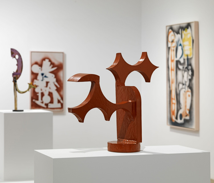 This is a compelling show that reminds us that, though known best for his welded-steel sculptures, Smith identified as a painter