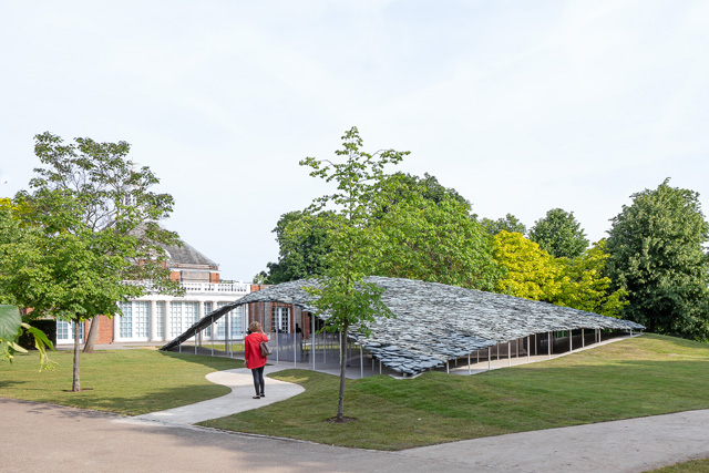 Serpentine Pavilion 2019, designed by Junya Ishigami, Serpentine Gallery, London © Junya Ishigami + Associates, Photo © 2019 Norbert Tukaj.