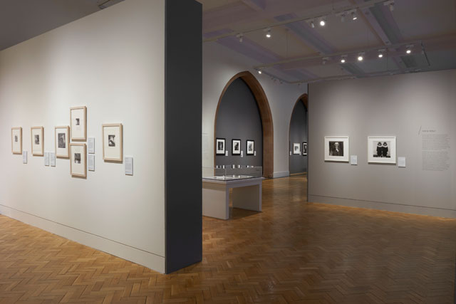 Artist Rooms: Self Evidence – Photographs by Woodman, Arbus and Mapplethorpe, installation view. Photo courtesy Scottish National Portrait Gallery.