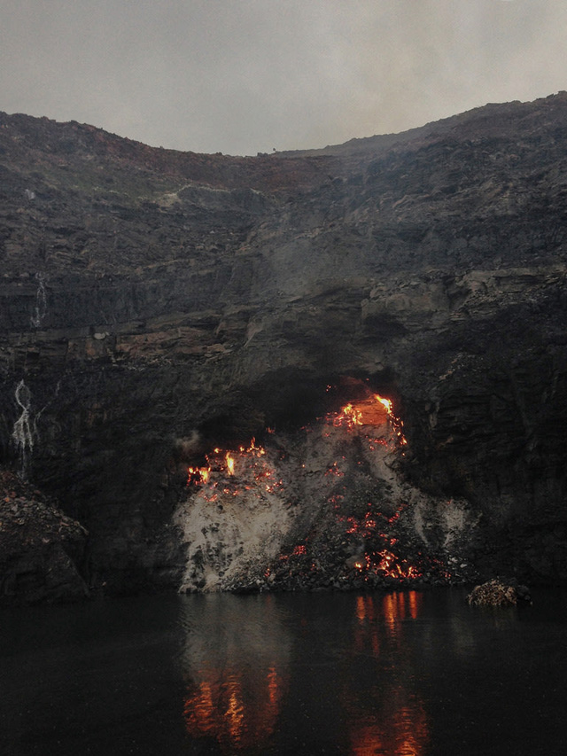Ronny Sen. Jharia End of Time 2, 2014. Archival pigment print, 9 x 6.75 in. Courtesy Ronny Sen and TARQ. Copyright Ronny Sen 2014.